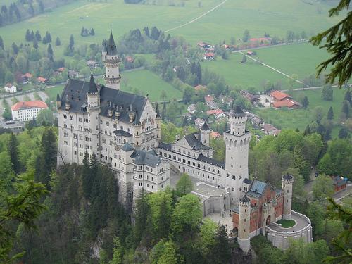 Замок Нойшванштайн (Neuschwanstein castle) Бавария, Германия