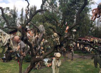 Остров кукол в Сочимилько